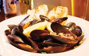 Mussels in beer at Lyndale Tap House