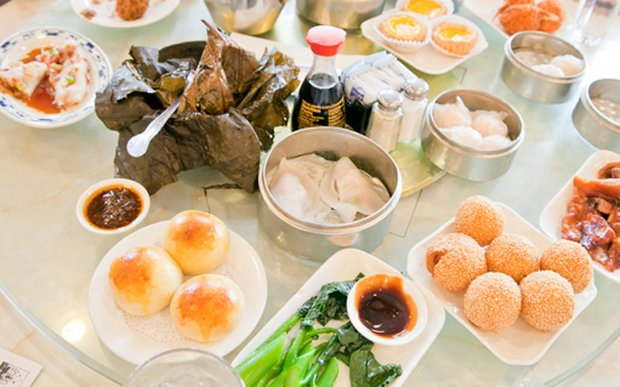 Dim sum at Mandarin Kitchen