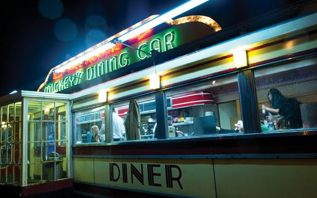 Exterior of Mickey's Dining Car in St. Paul