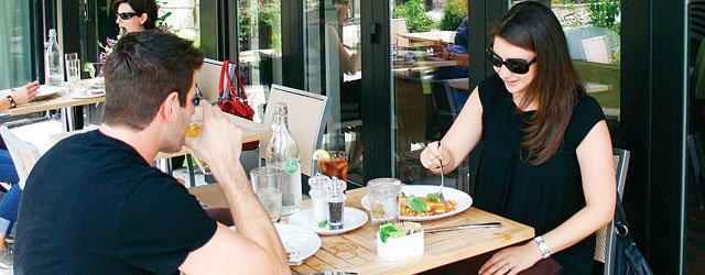 Outdoor dining at Mill Valley Kitchen