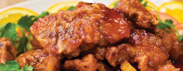 Fujianese-Style Drunken Pork Ribs at Pagoda
