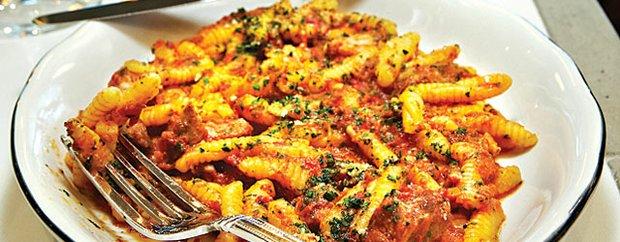 Cavaletti in pork rib ragu at Parma 8200