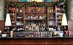The bar at Pazzaluna Urban Italian restaurant in St. Paul