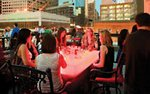 Rooftop dining at Seven