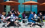 Outdoor dining at Spoonriver