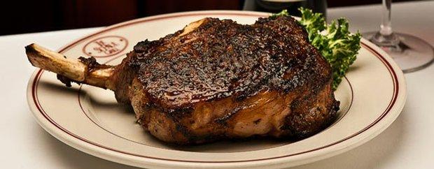 Cowboy Steak at St. Paul Grill