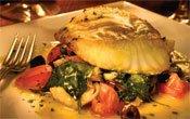 Sea Bass at Tria Restaurant