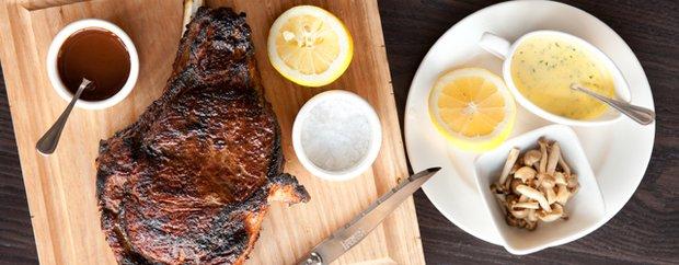 Steak at Burch Steakhouse in Uptown, Minneapolis