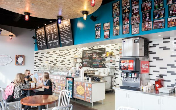 Interior of Honey & Mackie's Ice Cream and French Fries in Plymouth, MN | Photo by Caitlin Abrams