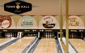 Bowling lanes at Town Hall Lanes in Minneapolis, MN