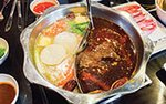 Hot pot at Little Szechuan