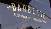 Barbette exterior sign