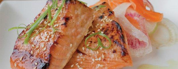 Salmon at Lake & Irving in Uptown Minneapolis