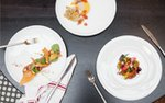Plates of food at Spoon and Stable   Photo by Caitlin Abrams