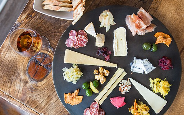 A spread at Gyst restaurant in Minneapolis