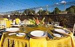 Table setting at The Hilton Minneapolis Bloomington