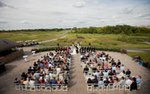 A wedding ceremony at Legends Golf Club in Prior Lake