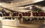 A wedding setup at Medina Entertainment Center