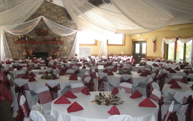 The banquet hall at Tanners Brook Golf Course