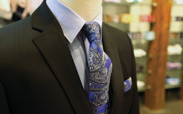 A suit and tie from Hammer Made
