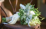 Elizabeth Ries's wedding bouquet by Floral Logic
