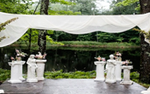 A wedding setup at Juliane James Place