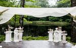 A wedding setup at Juliane James Place