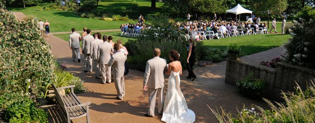 A wedding at one of the Three Rivers parks