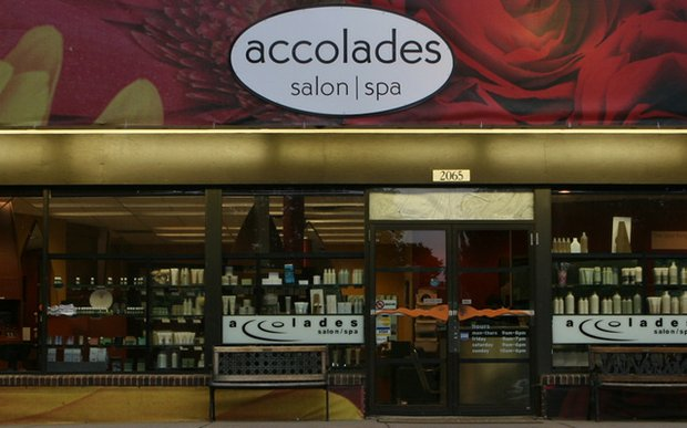 Exterior of Accolades Salon | Spa in St. Paul