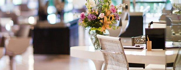 Lili Salon Spa interior.