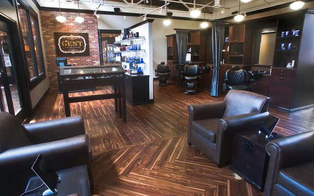 Interior of Gent Cuts & Grooming in St. Paul