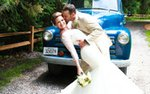 A bride and groom on their wedding day | photo by Emily Theisen Photography