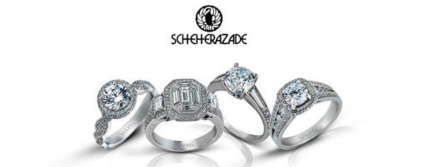 Engagement rings from Scheherazade