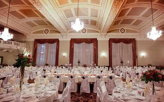 A Wedding Setup At St Paul Athletic Club