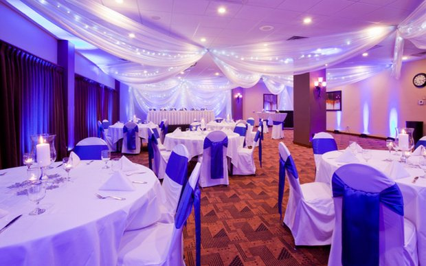 Interior banquet space at Grandstay Hotel & Conference Center Apple Valley