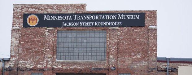 Minnesota Transportation Museum exterior.