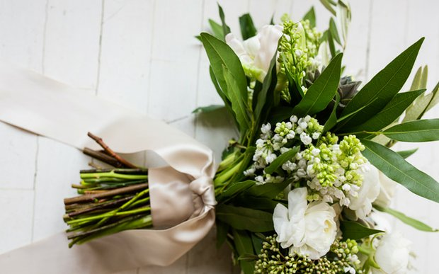 A bouquet from a wedding planned by Park Place Planning & Events