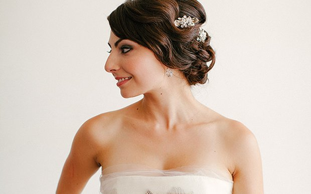Hair and makeup by Bespoke Hair Artisans