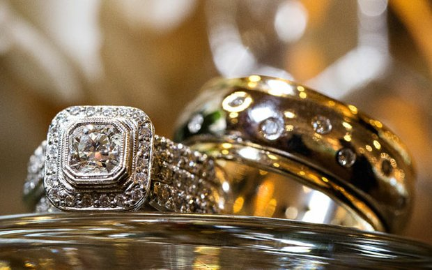 Wedding bands from G. Allan Jewelers