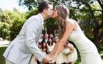 Wedding at Camrose Hill Flower Farm