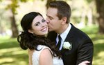 A bride and groom photographed by Amber Procaccini