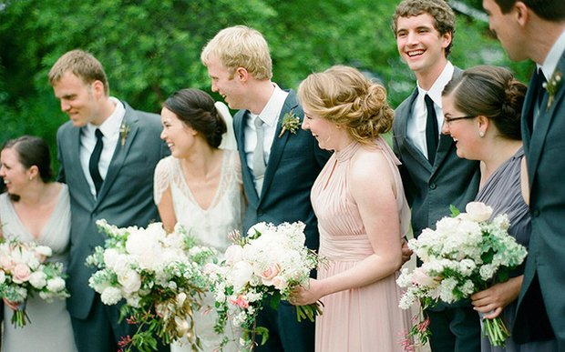 A wedding party | photo by Laura Ivanova Photography