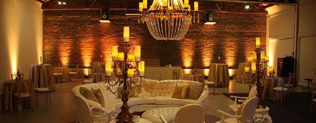 Interior of 514 Studios Warehouse Wedding Venue in Minneapolis
