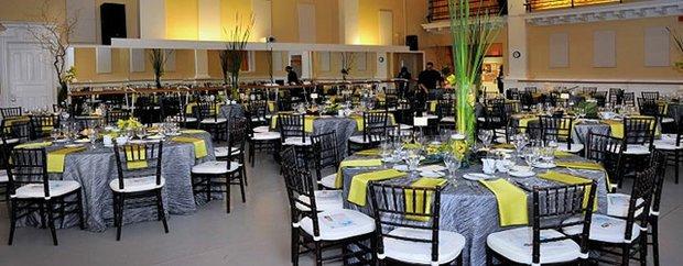 Interior of Mason's Restaurant Barre