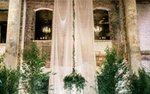 A wedding venue decorated by Blush & Whim
