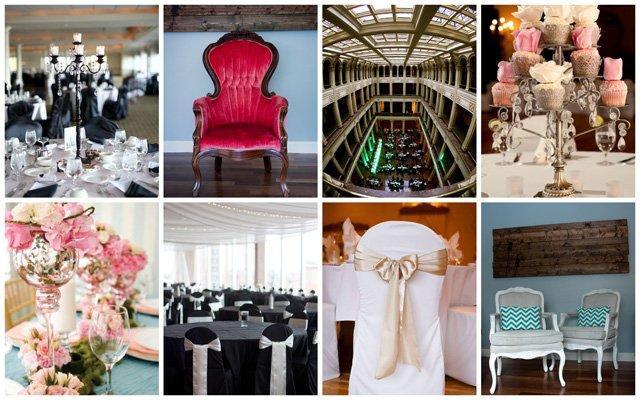 Wedding styling by Bella Amore Events