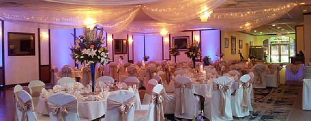 Wedding setup at Lowell Inn Stillwater