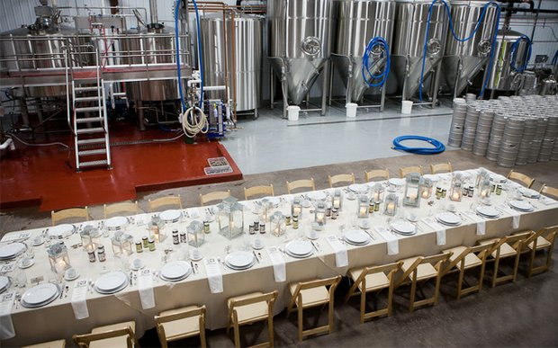 Wedding at Bent Paddle Brewing Co.