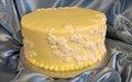 pj murphy's st. paul yellow small wedding cake