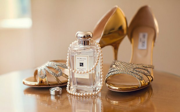 A bridal vignette by Tracy Walsh
